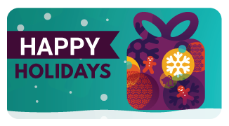 Happy Holidays! Gift Card - The Library Marketplace