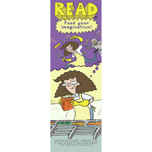 Lunch Lady Bookmark