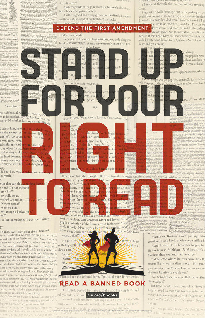 2016 Banned Books Week Poster