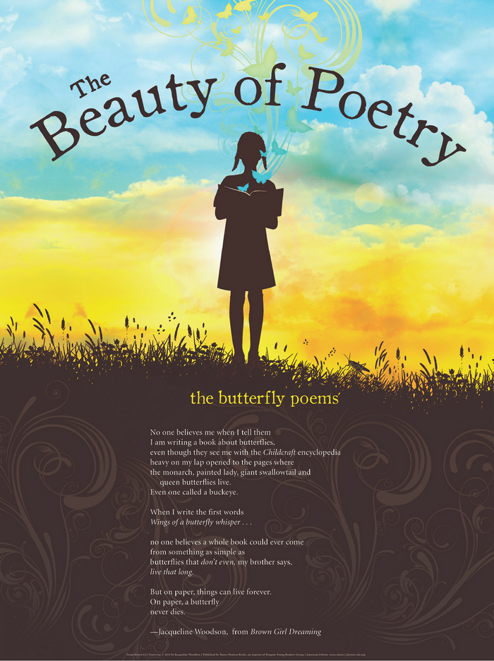 The Beauty of Poetry Poster