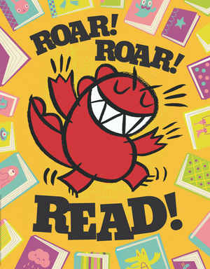 Dinosaur vs. Reading Poster