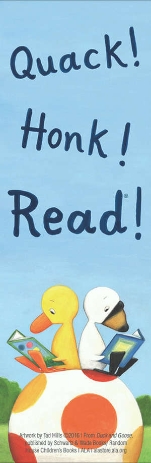 Duck & Goose Bookmark