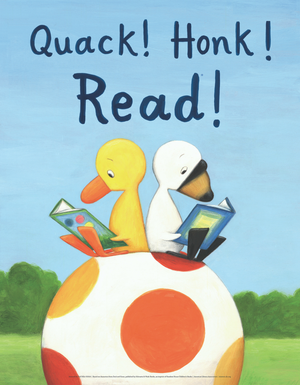 Duck & Goose Poster