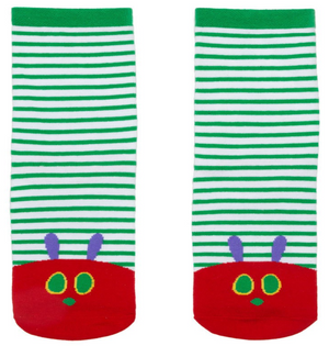 World of Eric Carle The Very Hungry Caterpillar Socks - The Library Marketplace