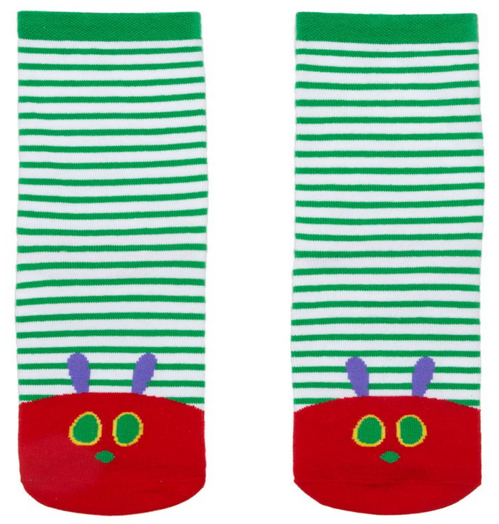 World of Eric Carle The Very Hungry Caterpillar Socks