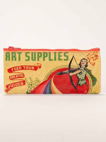 Art Supplies Pencil Case - The Library Marketplace