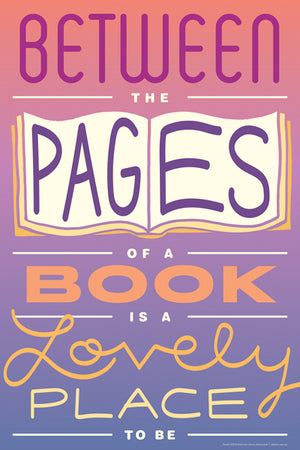 Between the Pages Mini Poster