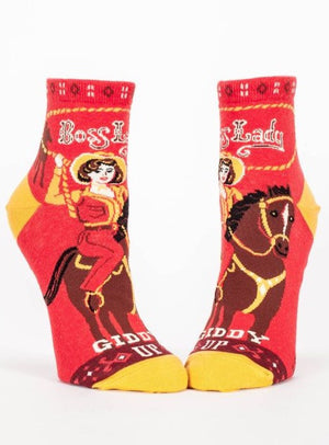 Boss Lady Socks - The Library Marketplace
