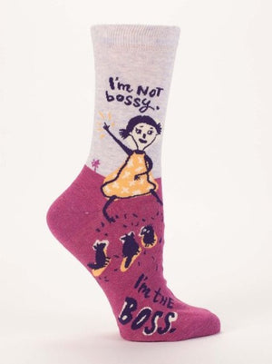 I'm Not Bossy Socks - The Library Marketplace