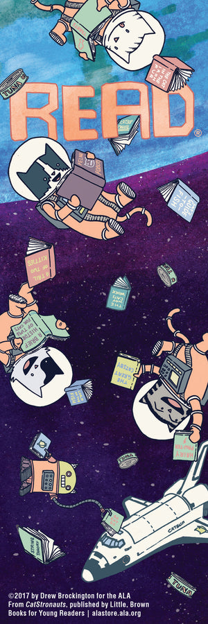 CatStronauts Bookmark-Bookmark-ALA Graphics-The Library Marketplace