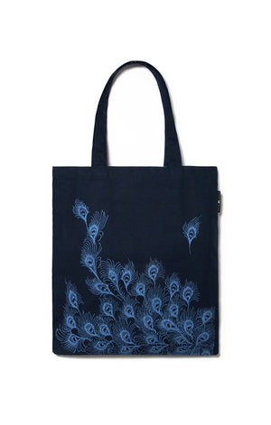 Pride and Prejudice (Navy) Tote Bag-Tote-Out of Print-The Library Marketplace