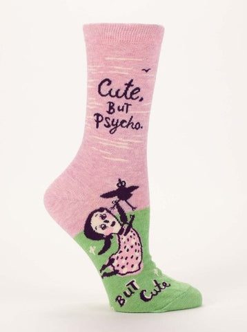 Cute. But Psycho Socks - The Library Marketplace