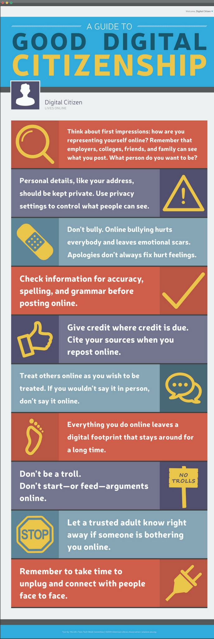 Good Digital Citizen Poster