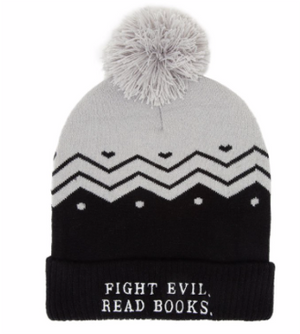 Fight Evil, Read books Beanie