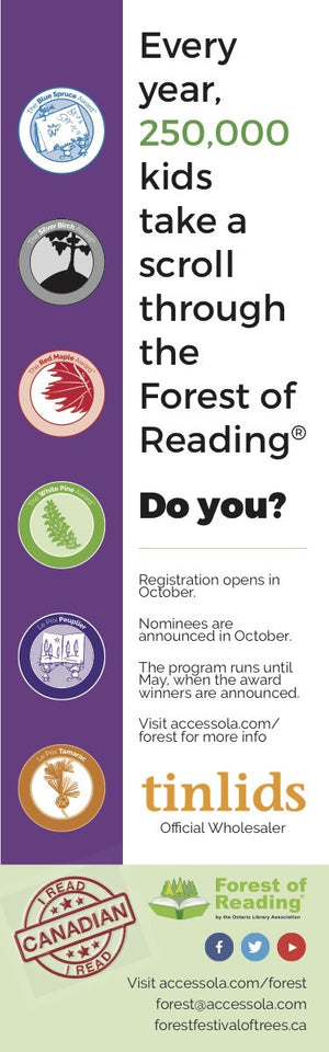 Forest of Reading Bookmarks-Bookmark-Forest of Reading-The Library Marketplace