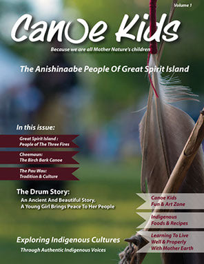 Canoes Kids: Volume 1 The Anishinaabe of Great Spirit Island-Magazine-Canoe Kids-The Library Marketplace