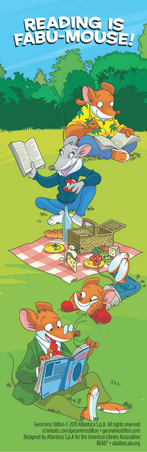 Geronimo Stilton Bookmark