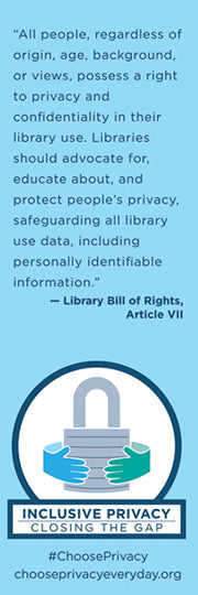 Inclusive Privacy Bookmark
