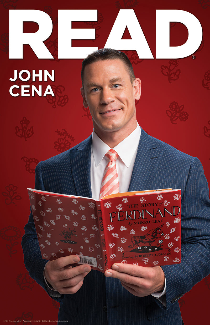 John Cena Poster-Poster-ALA Graphics-The Library Marketplace