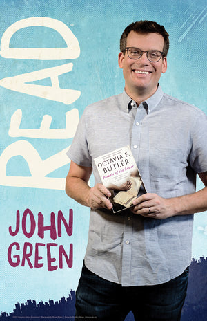 John Green Read Poster-Poster-ALA Graphics-The Library Marketplace
