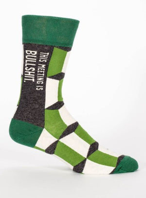Meeting is Bulls*** Socks - The Library Marketplace