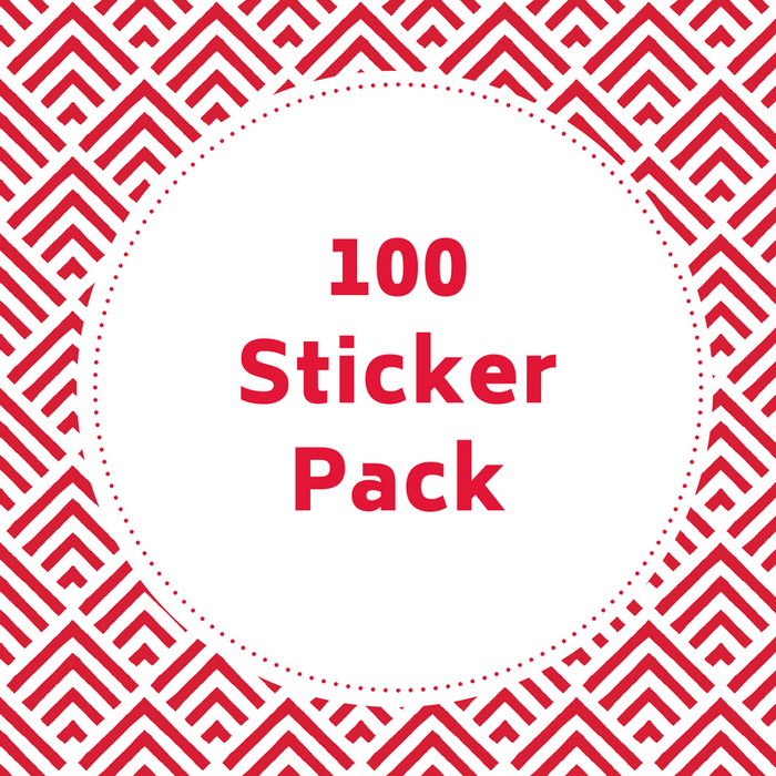 I Read Canadian™ Stickers 100/pack