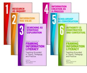 Framing Information Literacy (PIL#73): Teaching Grounded in Theory, Pedagogy, and Practice (6 VOLUME SET)