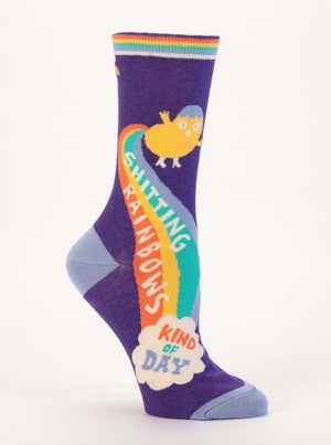 Shitting Rainbows Socks - The Library Marketplace