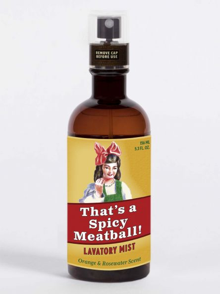 THAT'S A SPICY MEATBALL! LAVATORY MIST