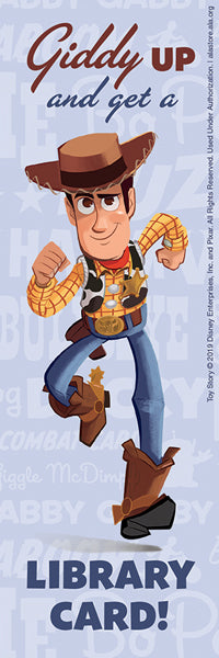 Toy Story Woody Bookmark