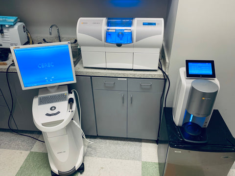 2015 Sirona CEREC AC Omnicam w/ 4.6 SW + 2015 2-Motor Wet/Dry MC X w/ 1,266 mills + Suction Unit + SpeedFire + Programat CS3 (FREE Delivery)