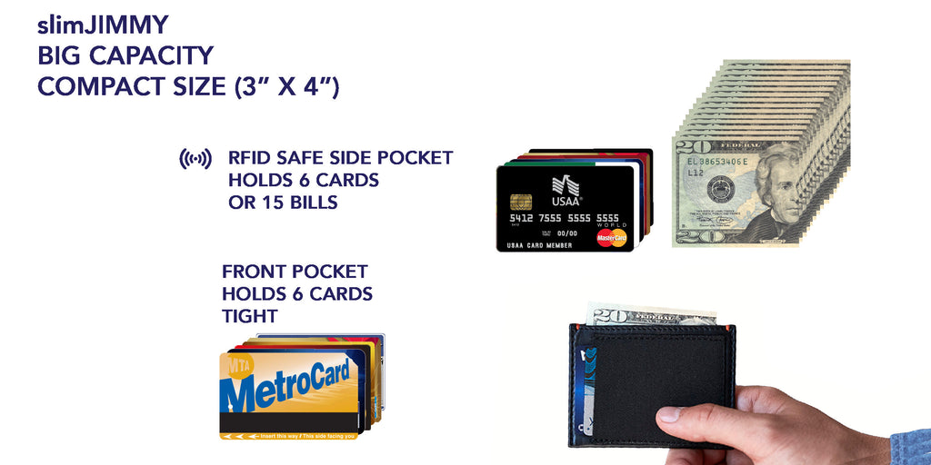slimJIMMY BIG WALLET CAPACITY