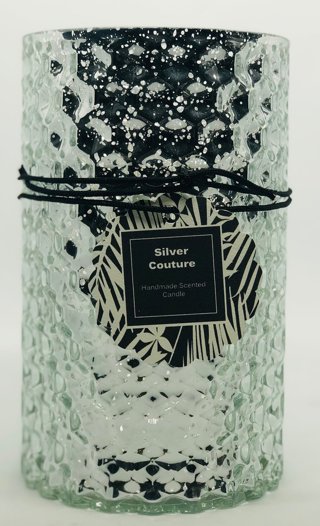 Silver Couture Luxury Handmade Candle