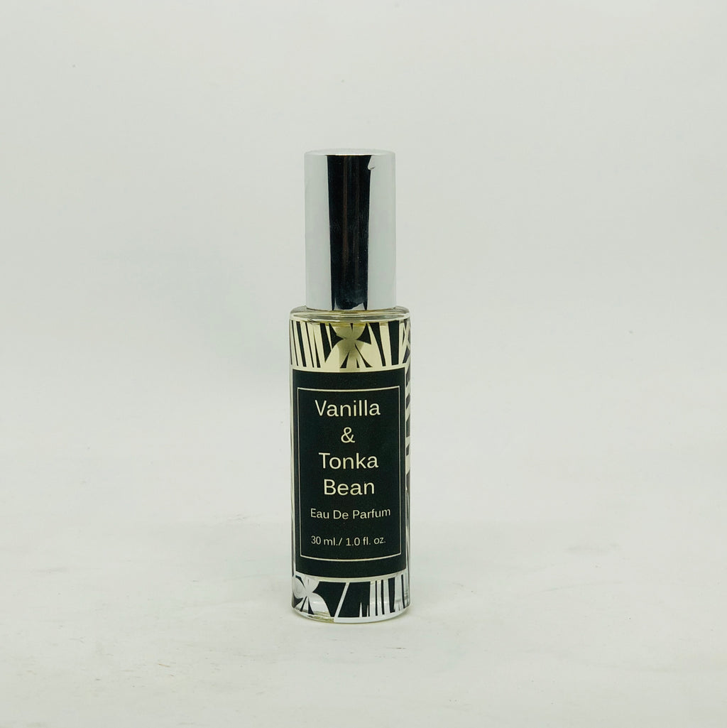 Vanilla and Tonka Bean Handmade Eau de Parfum Spray