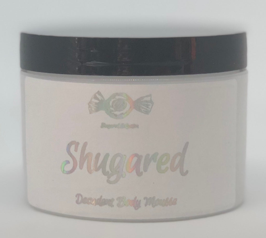 Shugared Handmade Pure Decadence Body Mousse 8 oz size