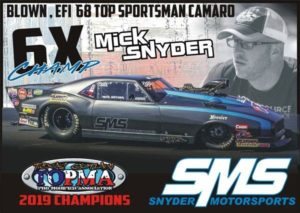 Snyder Scores 6th Season Title