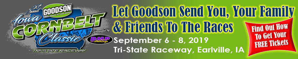 Get FREE Tickets to the 2019 Cornbelt Classic Sponsored by Goodson & DMP Awnings