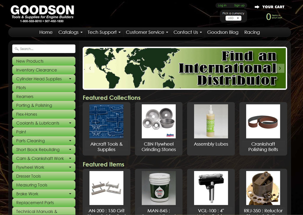 PR: Goodson Tools & Supplies for Engine Builders Launches New Website