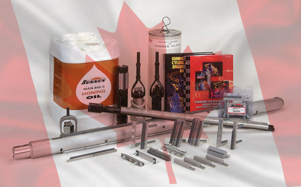 NEWS RELEASE: Goodson Tools & Supplies for Engine Builders Authorized To Ship Sunnen Products to Canada