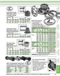Page 123 of 2021 Goodson Catalog Showing Valve Seals and Seat Inserts