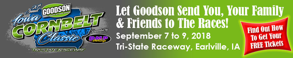 Let Goodson Send You To the Races