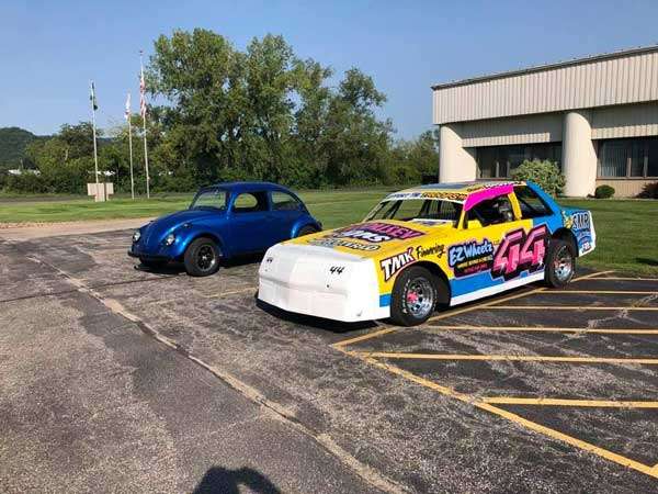 Dave's & Shawn's cars