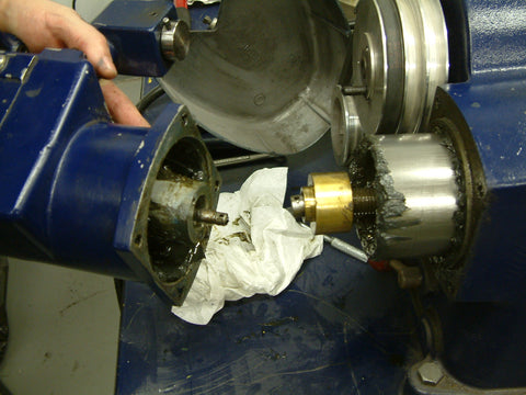 The gearbox assembly will come off in your hand