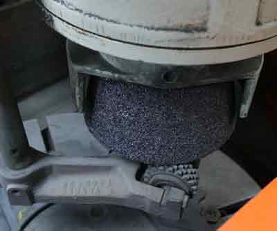 Dressing the Flywheel Grinding Stone is essential to proper performance