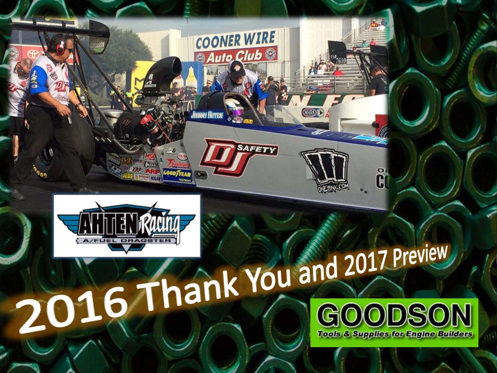 2016 Goodson Thank You from Johnny Ahten