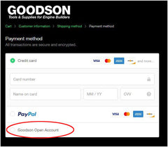 Goodson Payment Options