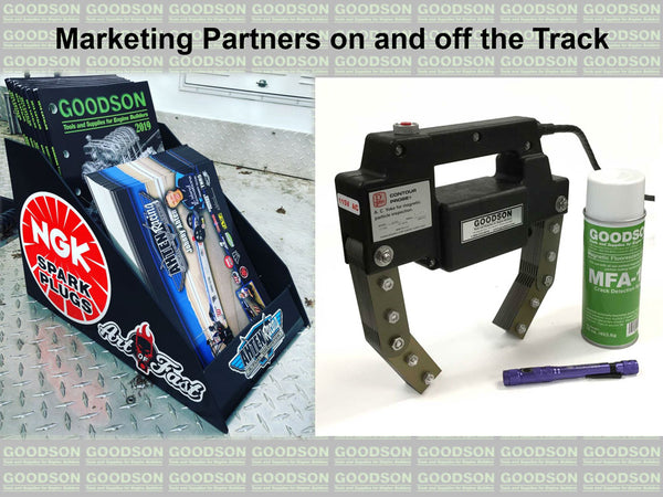 Marketing Partners On and Off the Track