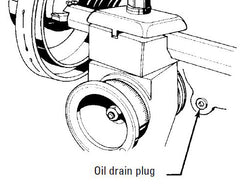 Change the oil in the brake lathe every 500 hours of use.