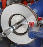 Brake Lathe Set-Up for Tip Testing