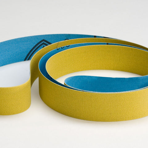 "320 Grit, 1"" Wide Fine Finish Crankshaft Polishing Belts"